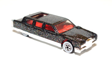 Hot Wheels Limozeen Black with Glitter and WW, coll#225, mint loose