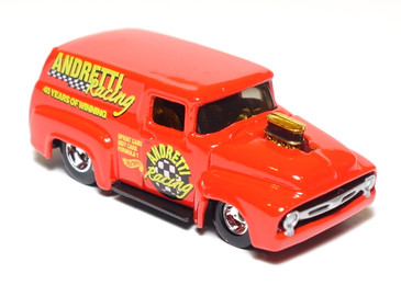 Hot Wheels Limited Edition Mario Andretti Racing '56 Ford Panel, mint loose
