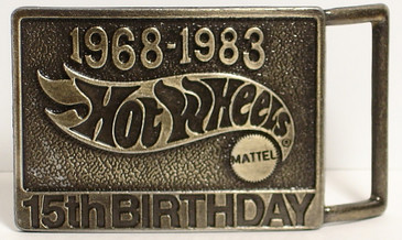 Hot Wheels Belt Buckle the Birthday Buckle