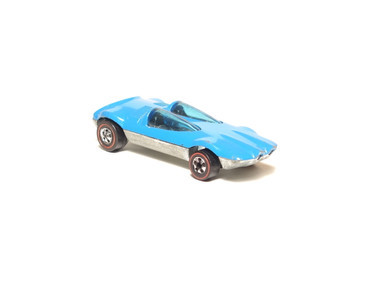 Hot Wheels Redlines Enamel Blue Swingin Wing, loose (0095)