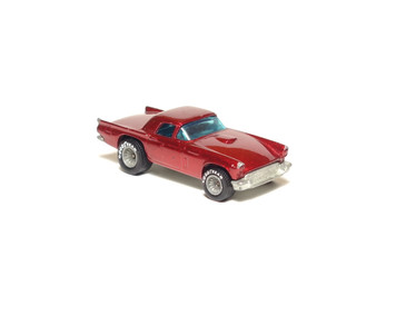 Hot Wheels '57 T-Bird in metalflake Red with GYG Real Riders, loose (x-505)