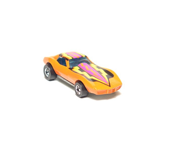 Hot Wheels Corvette Stingray, Orange, great condition, loose