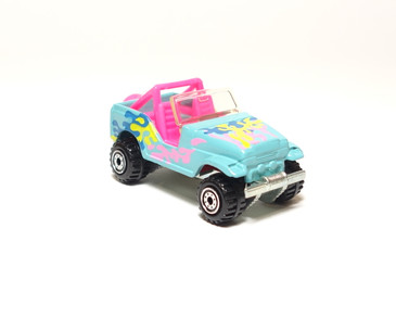 Hot Wheels vintage Trailbuster in Turquoise, loose