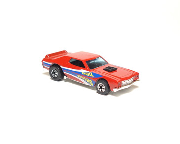 Hot Wheels Thrill Drivers Ford Torino in Red