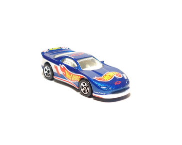 Hot Wheels '93 Camaro, dark metalflake blue with SP5 wheels, loose
