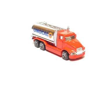 Hot Wheels Tank Truck Unocal 76 in Red with 7sp wheels, loose