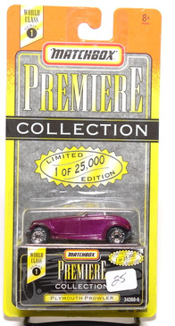 Matchbox Premiere Collection Series 1 Plymouth Prowler in Purple (025)