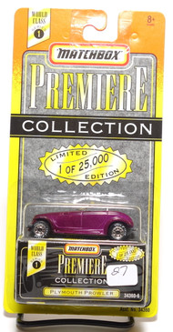 Matchbox Premiere Collection Series 1 Plymouth Prowler in Purple