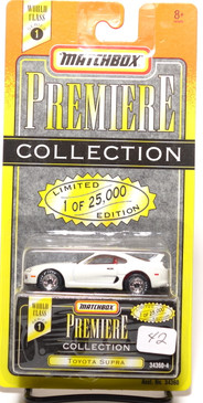 Matchbox Premiere Collection Series 1 Toyota Supra in Bright White