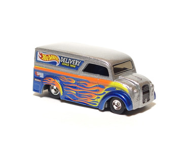 Hot Wheels Dairy Delivery GOT FLAMES