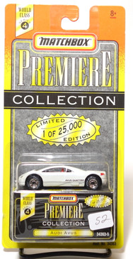 Matchbox Premiere Collection Series 4 Audi Avus