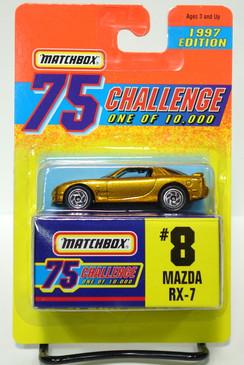 Matchbox 75 Gold Challenge Mazda RX-7