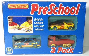 Matchbox Preschool 3 Pack Vintage