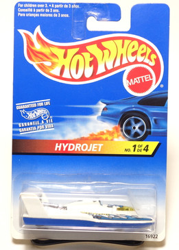 Hot Wheels International Card Hydrojet