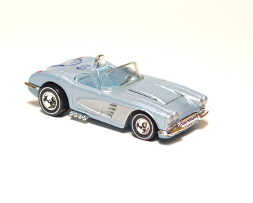 Hot Wheels Limited Edition Corvette Central Promo 1958 Corvette Convertible Coupe, loose