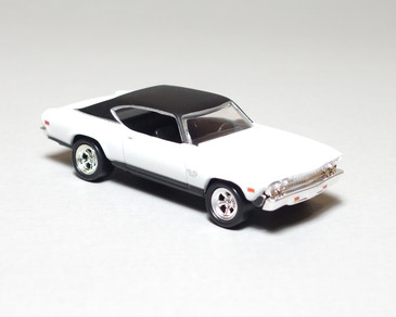 Hot Wheels Limited Edition '69 Chevrolet Chevelle SS 427 in White, loose