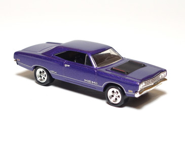 Hot Wheels Limited Edition Plymouth Hemi GTX in Purple, loose