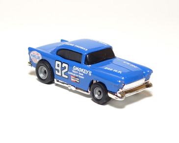 Hot Wheels Limited Edition Smokey Yunick '55 Chevy in Blue, loose