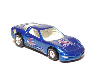 2000 Chicago Auto Show '97 Corvette Limited Edition Hot Wheels, loose