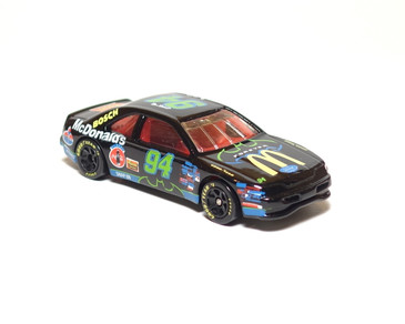 Bill Elliot Nascar Thunderbat T-Bird Stocker Limited Edition Hot Wheel in Black, loose