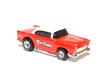Toy Cars & Vehicles Magazine '55 Chevy Limited Edition Hot Wheel in White/Red, loose