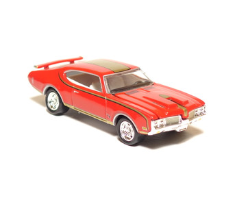 Hot Wheels Limited Edition 1969 Olds 442 in Red, loose