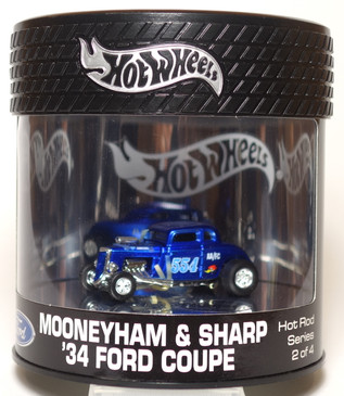 Hot Wheels Showcase Alternate Run, Hot Rod Series, Mooneyham & Sharp '34 Ford Coupe