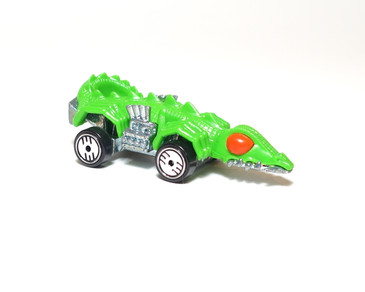 Hot Wheels Fangster in Green, Hong Kong metal base, UH wheels, mint loose