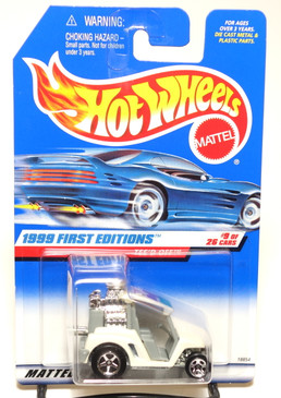 Hot Wheels 1999 First Editions Tee'd Off w/Gray Interior Coll#683