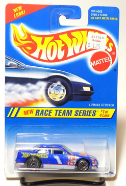 Hot Wheels Collector #275 Race Team Series Lumina Stocker with rare Pontiac front end variation