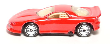 1993 Chevrolet Camaro in Bright Red with Ultra Hot wheels