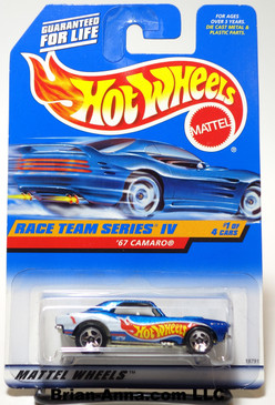 Hot Wheels 1998 Race Team Series IV, '67 Camaro coll#725