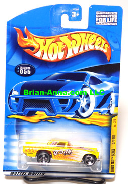 Hot Wheels 2001 Coll# 055, Turbo Taxi Series, '57 T-Bird - NO Port Hole