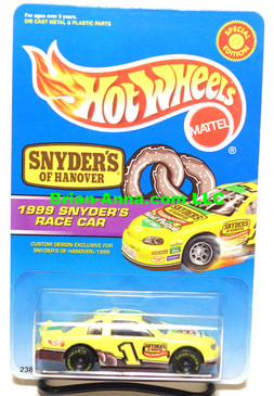 Hot Wheels Snyder's of Hanover 1999 Race Car Promo