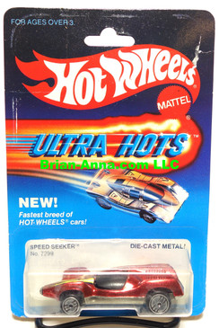 Hot Wheels Speed Seeker, Dk metallic Red in Ultra Hots Package