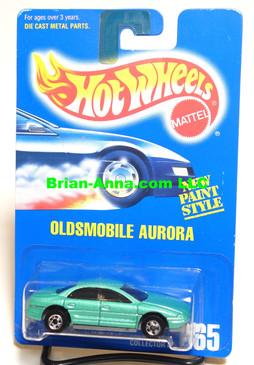 Hot Wheels Blue Back Coll#265, Pearl Green, Dark Tint, BW wheels