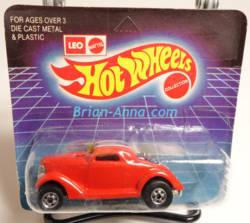 Hot Wheels Leo Mattel India Unpunched Blister, Neet Streeter in Red, Oldie But Goodie tampo