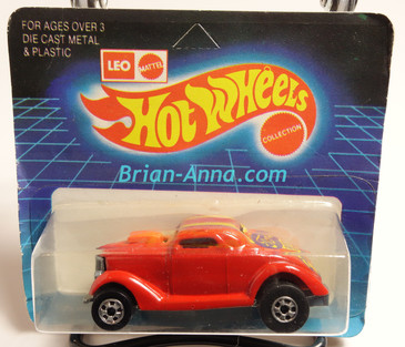Hot Wheels Leo Mattel India Unpunched Blister, Neet Streeter in Red, Oldie But Goodie(rare yellow) tampo