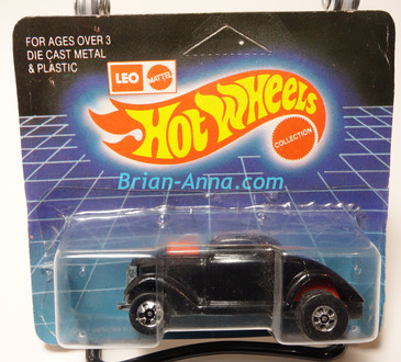 Hot Wheels Leo Mattel India Unpunched Blister, Neet Streeter in Black, Oldie But Goodie tampo