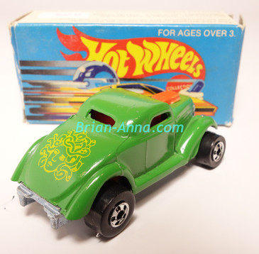 Hot Wheels Leo Mattel India, Boxed, Neet Streeter in Green, Yellow Medusa tampo