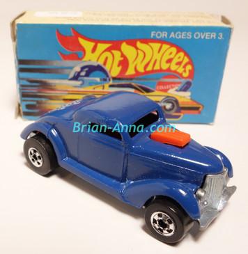 Hot Wheels Leo Mattel India, Boxed, Neet Streeter in Dark Blue, White Medusa tampo