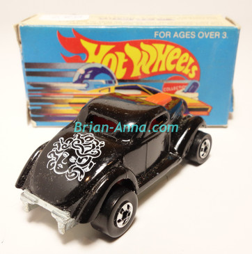 Hot Wheels Leo Mattel India, Boxed, Neet Streeter in Black, White Medusa tampo