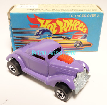 Hot Wheels Leo Mattel India, Boxed, Neet Streeter in Purple, Black Medusa tampo