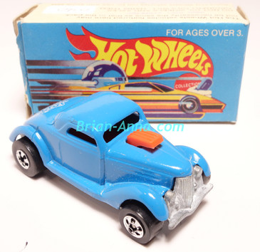 Hot Wheels Leo Mattel India, Boxed, Neet Streeter in Light Blue, White Medusa tampo