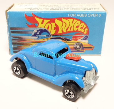 Hot Wheels Leo Mattel India, Boxed, Neet Streeter in Light Blue, Yellow Medusa tampo