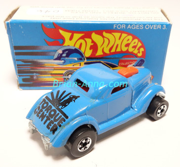 Hot Wheels Leo Mattel India, Boxed, Neet Streeter in Light Blue, Black Torque Center tampo