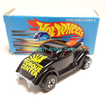 Hot Wheels Leo Mattel India, Boxed, Neet Streeter in Black with Yellow Torque Center tampo