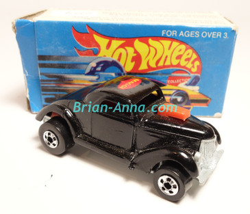 Hot Wheels Leo Mattel India, Boxed, Neet Streeter in Black with Maggi  tampo