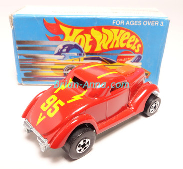 Hot Wheels Leo Mattel India, Boxed, Neet Streeter in Red with 95  tampo