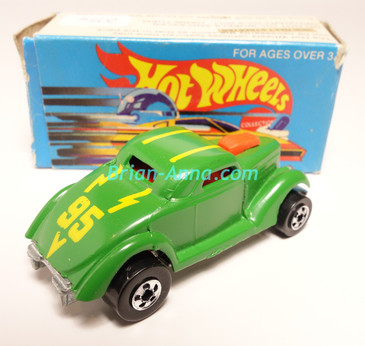 Hot Wheels Leo Mattel India, Boxed, Neet Streeter in Light Green with 95  tampo